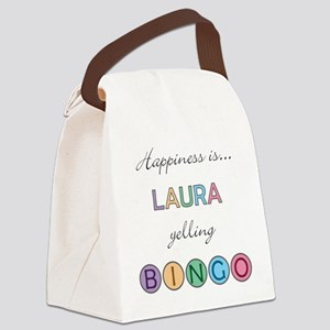 Laura Canvas Lunch Bag