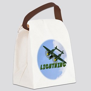 P-38 Lightning Canvas Lunch Bag