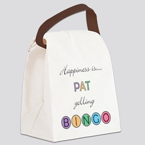 Pat Canvas Lunch Bag