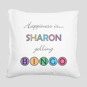 Sharon Square Canvas Pillow