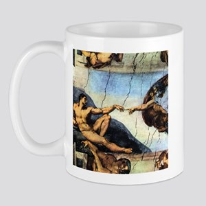 Michelangelo Creation Of Adam Mug