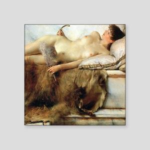 """Alma-Tadema Tepidarium Square Sticker 3"""" x 3"""""""