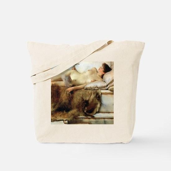 Alma-Tadema Tepidarium Tote Bag