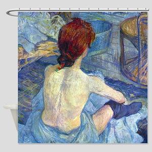 Toulouse-Lautrec Rousse (High Res) Shower Curtain