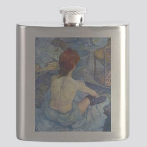 Toulouse-Lautrec Rousse (High Res) Flask