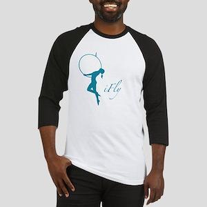 iFly Lyra Aerial Artist Silouhette Baseball Jersey