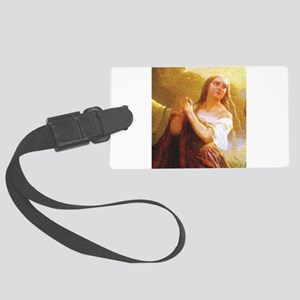 fair maiden in distress Large Luggage Tag