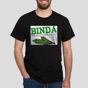 Binda Ash Grey T-Shirt Dark T-Shirt
