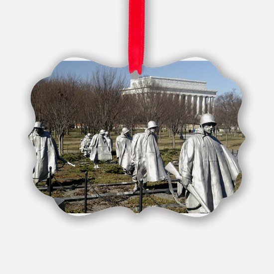Korean War Memorial - Horizontal.jpg Ornament