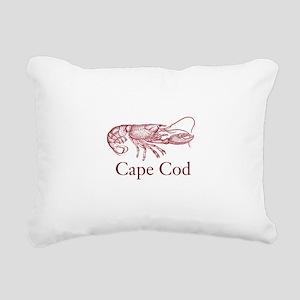 Cape Cod Lobster Rectangular Canvas Pillow