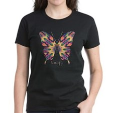 Delight Butterfly Women's Dark T-Shirt