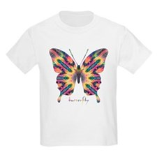 Delight Butterfly Kids Light T-Shirt