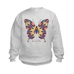 Delight Butterfly Kids Sweatshirt