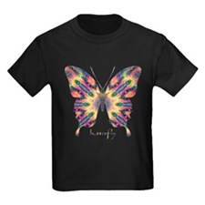 Delight Butterfly Kids Dark T-Shirt