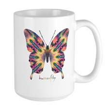 Delight Butterfly Large Mug