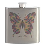Delight Butterfly Flask