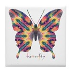 Delight Butterfly Tile Coaster