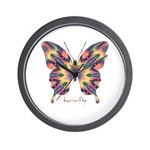 Delight Butterfly Wall Clock