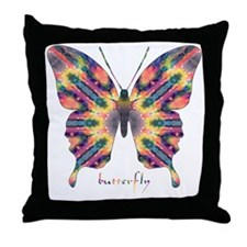 Delight Butterfly Throw Pillow