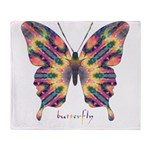 Delight Butterfly Throw Blanket