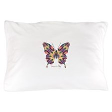 Delight Butterfly Pillow Case