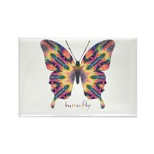 Delight Butterfly Rectangle Magnet