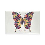 Delight Butterfly Rectangle Magnet (10 pack)