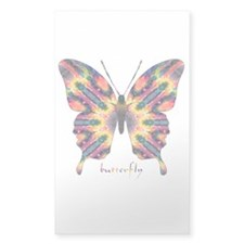 Delight Butterfly Sticker (Rectangle)