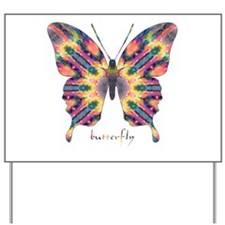 Delight Butterfly Yard Sign
