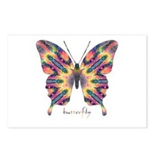 Delight Butterfly Postcards (Package of 8)