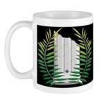 Masonic Widows column with acacia Mug