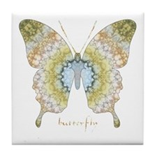 Haven Butterfly Tile Coaster
