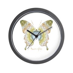 Haven Butterfly Wall Clock