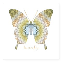 Haven Butterfly Square Car Magnet 3