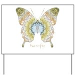 Haven Butterfly Yard Sign