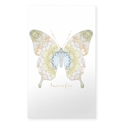 Haven Butterfly Sticker (Rectangle 10 pk)