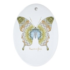 Haven Butterfly Ornament (Oval)