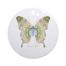 Haven Butterfly Ornament (Round)