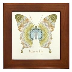 Haven Butterfly Framed Tile