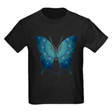 Mercy Butterfly Kids Dark T-Shirt