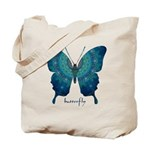 Mercy Butterfly Tote Bag