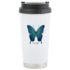 Mercy Butterfly Stainless Steel Travel Mug