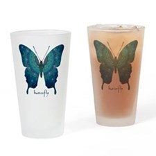Mercy Butterfly Drinking Glass