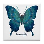 Mercy Butterfly Tile Coaster