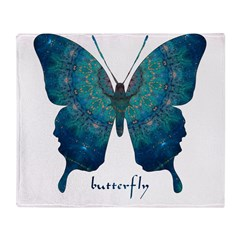 Mercy Butterfly Throw Blanket