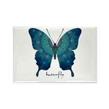 Mercy Butterfly Rectangle Magnet