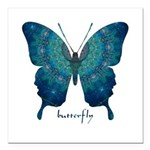 Mercy Butterfly Square Car Magnet 3