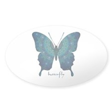 Mercy Butterfly Sticker (Oval)