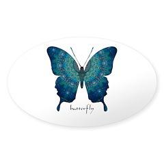Mercy Butterfly Sticker (Oval)