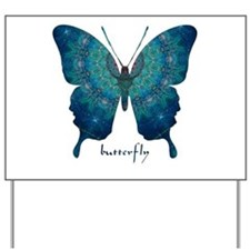 Mercy Butterfly Yard Sign